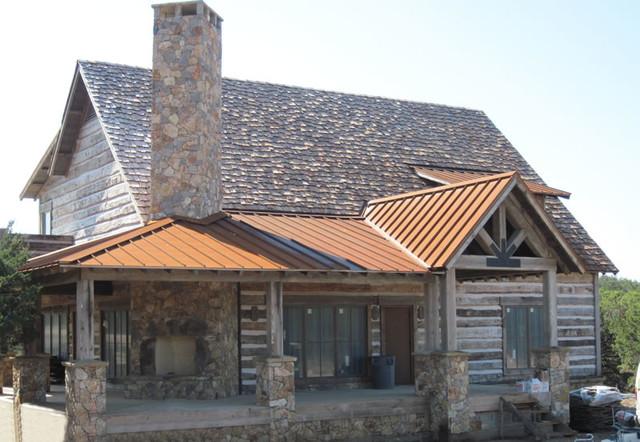 Corten Standing Seam Roofing