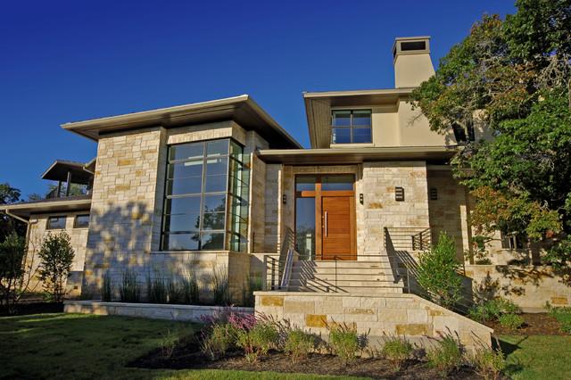 Cortona Residence Front Exterior contemporary-exterior