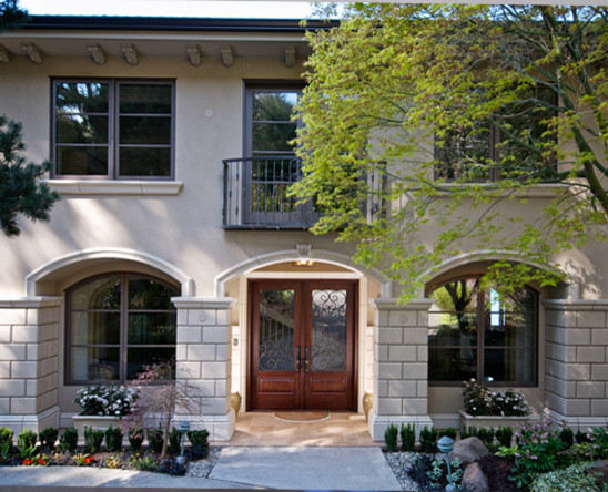 Cosmopolitan french home contemporary exterior for Cosmopolitan home designs