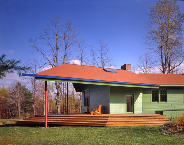 Cottage Addition Modern Exterior New York By