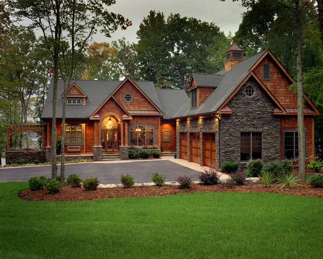 Cottage at the Lake - Traditional - Exterior - other metro ...