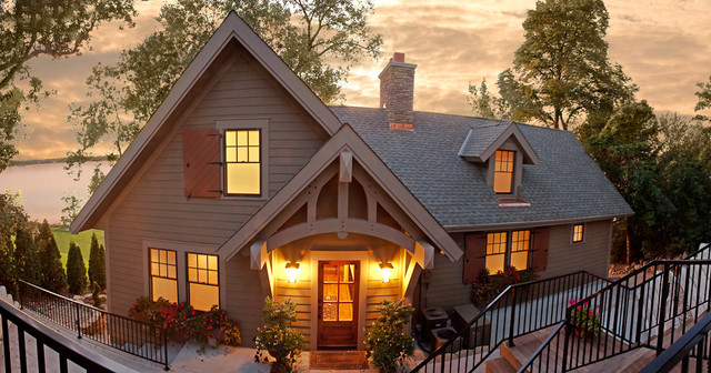 Cottage on the Hill traditional-exterior
