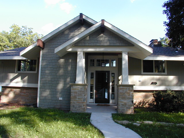 Cottage Remodel traditional-exterior