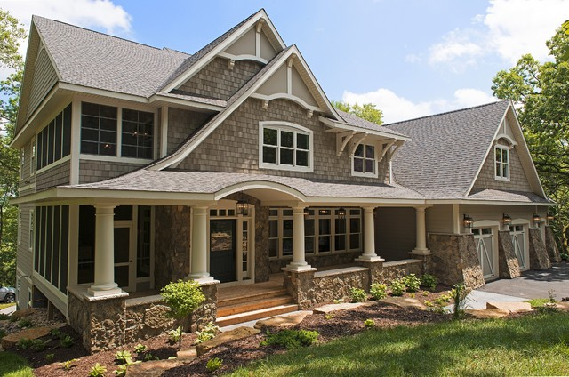 Cottage style home victorian exterior minneapolis Stone cottage kit homes