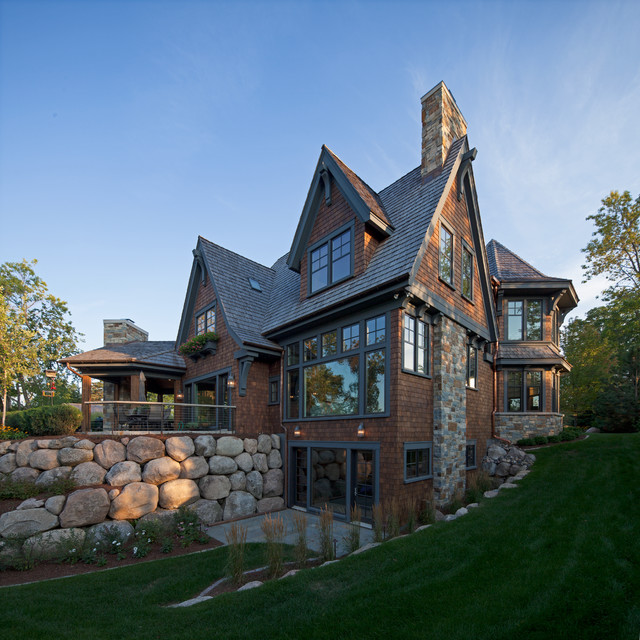 Cottage Style Meets Modern Living Rustic Exterior