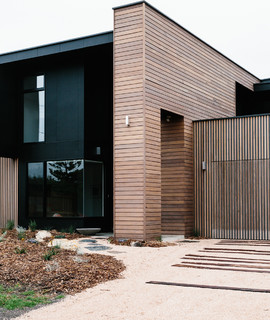 Cottesloe residence contemporary exterior geelong for Outdoor furniture geelong