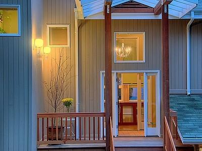 Cougar Mt. Passive Solar Home contemporary-exterior