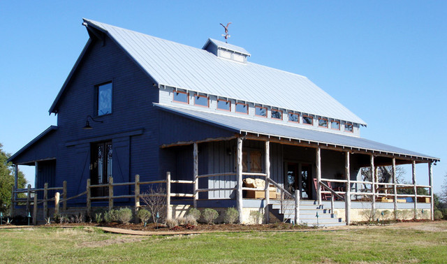 Country Barn retreat eclectic-exterior