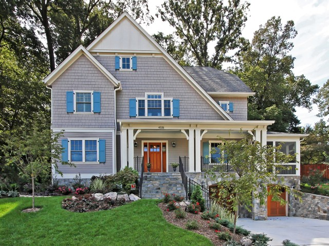 Country Club Hills traditional-exterior