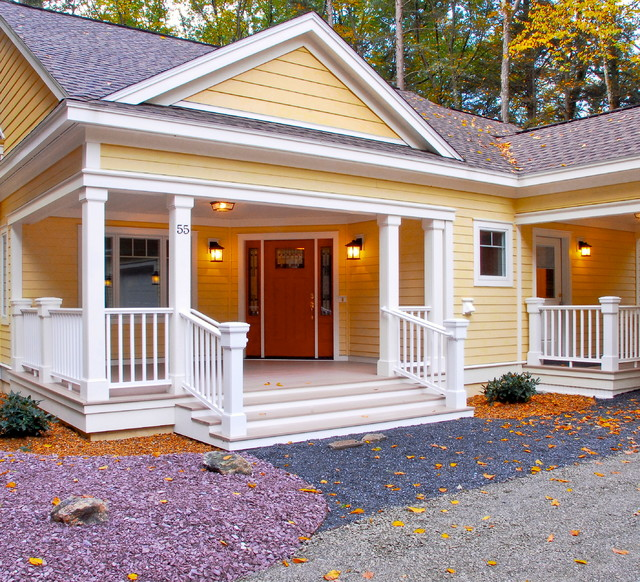 Country cottage traditional exterior boston by for Country home exterior ideas