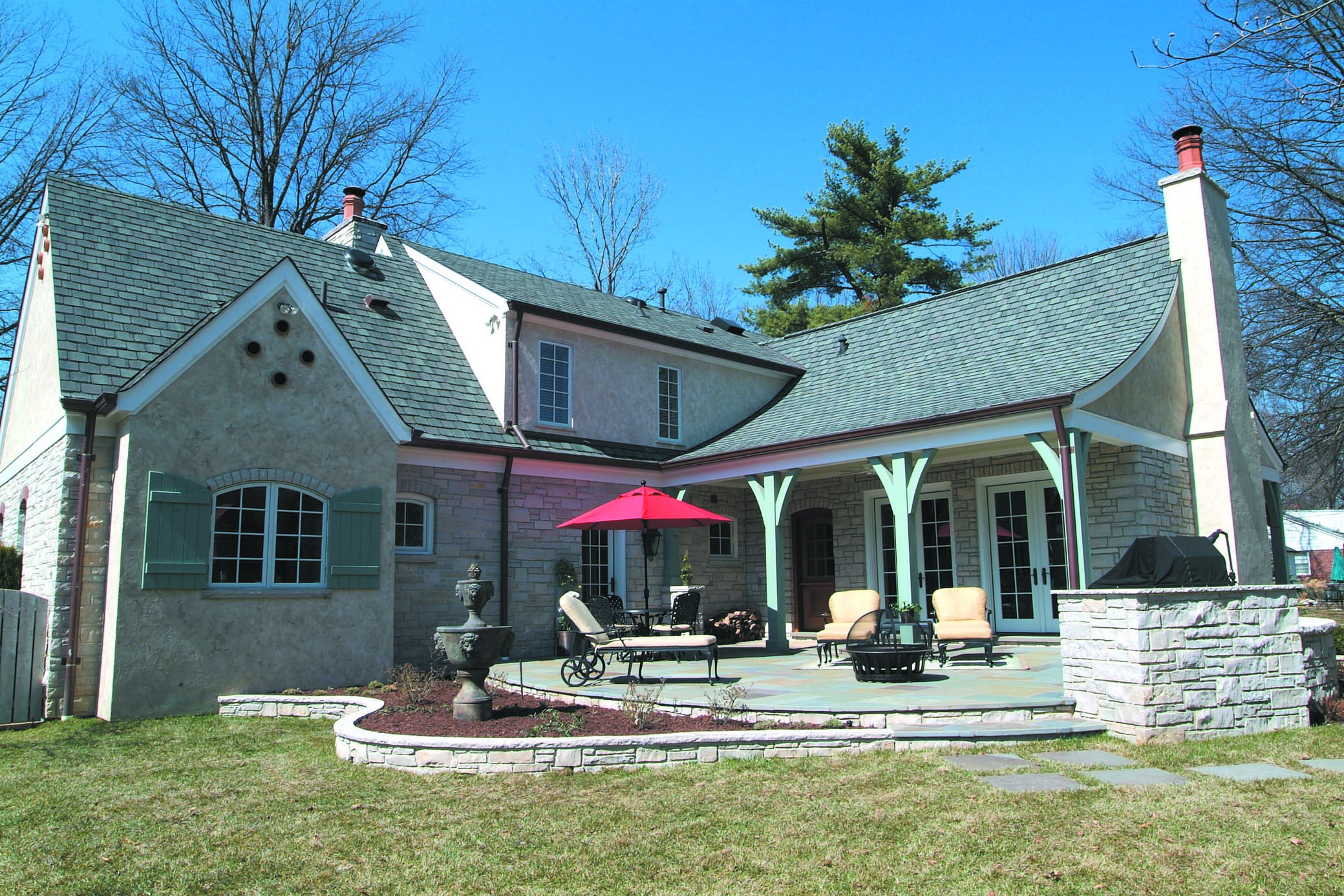 Country French Remodel