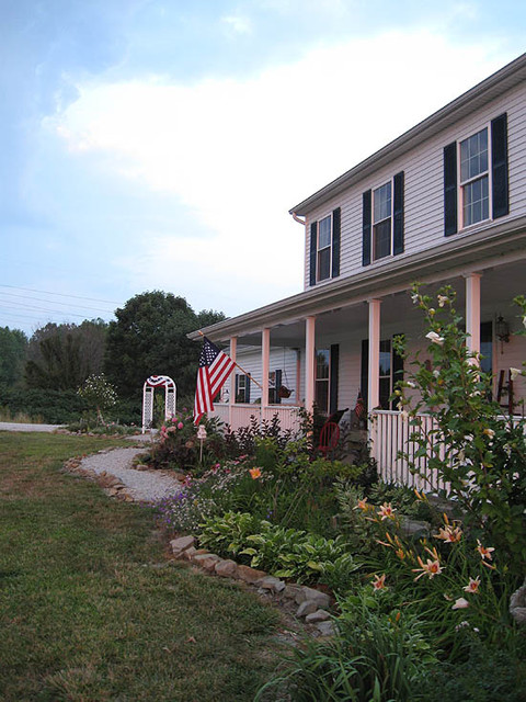 Country Home and Garden traditional-exterior