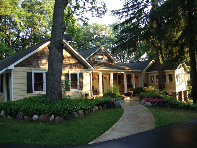Country Home Traditional Exterior Detroit