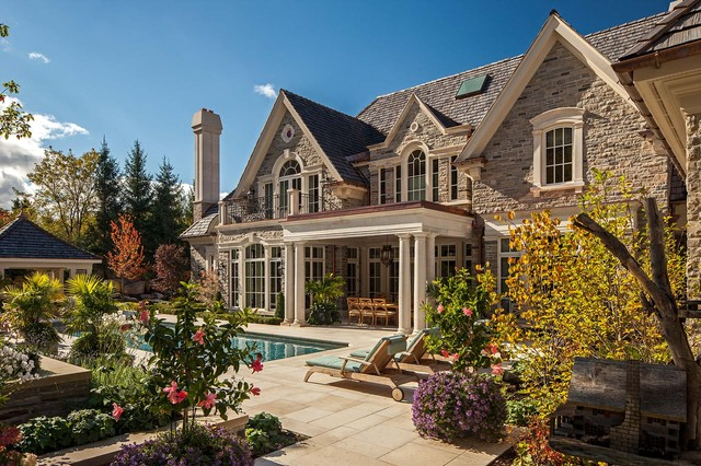Country House 1 traditional-exterior