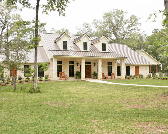 Farmhouse e Story Exterior Design Ideas Remodel & Decor with