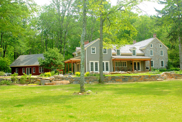 Country Lane rustic-exterior