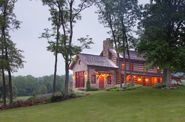 Country Retreat farmhouse-exterior