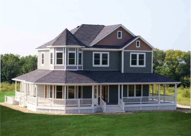 Country victorian exterior traditional exterior for House plans with porches all the way around