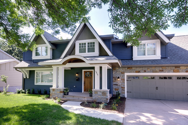 Home Exteriors Take Color Cues From Stone