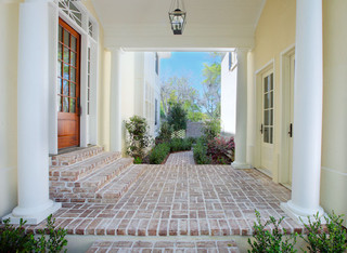 Covered Breezeway Traditional Exterior Charleston