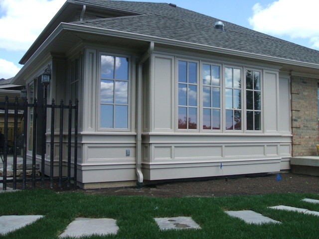 Covered Porch And Sun Room Addition