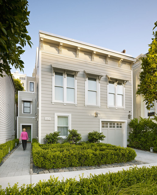 Cow Hollow Historic Home traditional-exterior