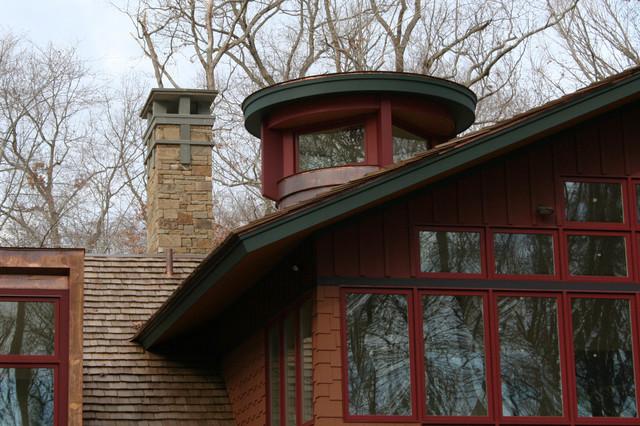 Craftman style renovation traditional-exterior