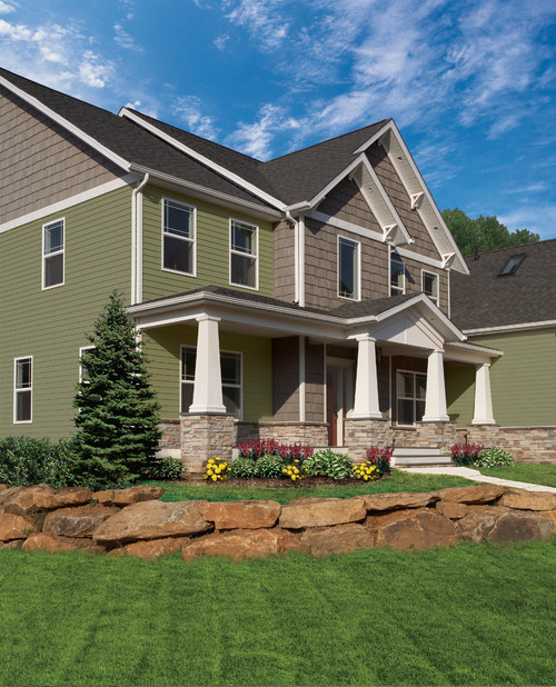 Craftsman Exterior by Dc Metro Siding & Exterior Contractors Vinyl Siding Institute