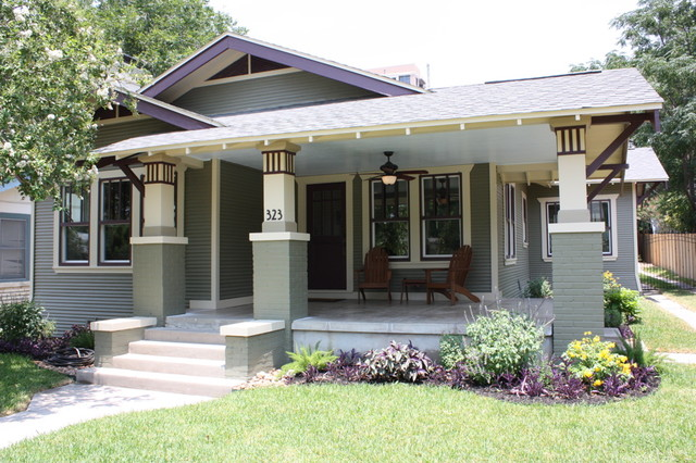 Craftsman Bungalow Renovation Traditional Exterior San Diego By Green Button Homes Llc