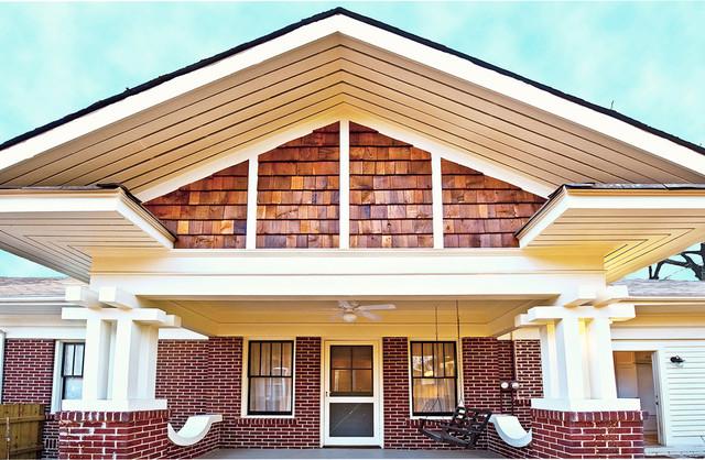 Craftsman Bungalow Renovation - Craftsman - Exterior - atlanta - by Heirloom Design Build