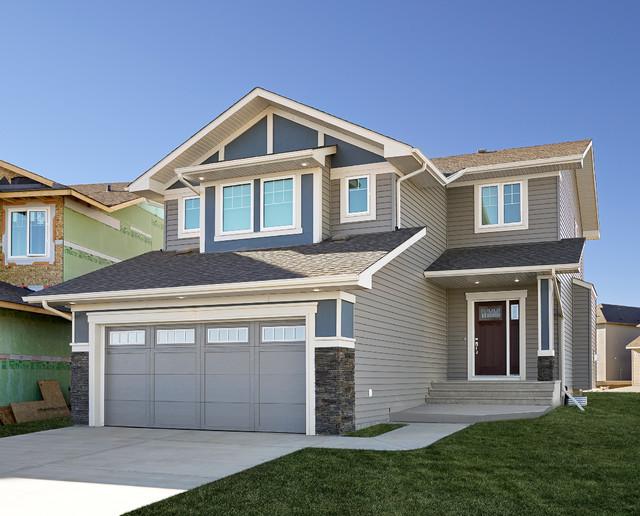 Craftsman Elevation Exterior Edmonton By Lincolnberg Master Builder