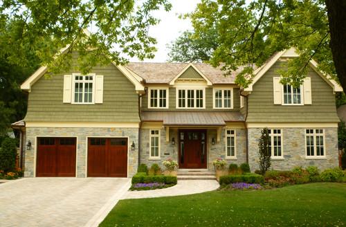Beautiful Steel Roof Over Front Door?