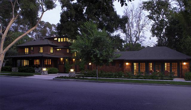 Claremont McKenna College President's Residence craftsman-exterior