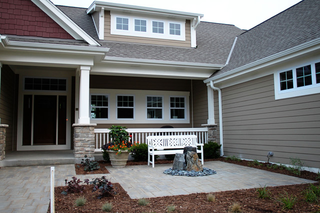Craftsman Style Exterior Window Trim - Home Design Ideas and Pictures