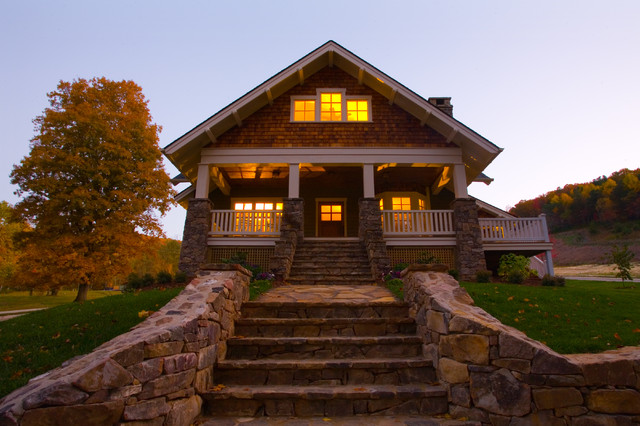 Living Stone Construction, Inc. craftsman-exterior