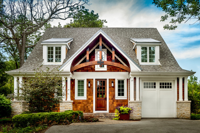Shed Dormers And Square Columns