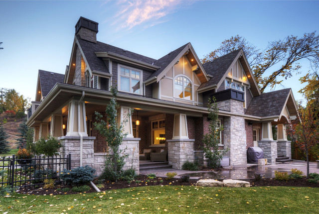 Craftsman French Country 1 Craftsman Exterior