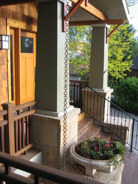 Craftsman Front Porch Craftsman Exterior Denver By
