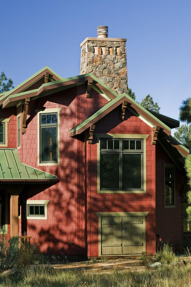 Craftsman exterior home idea in Phoenix