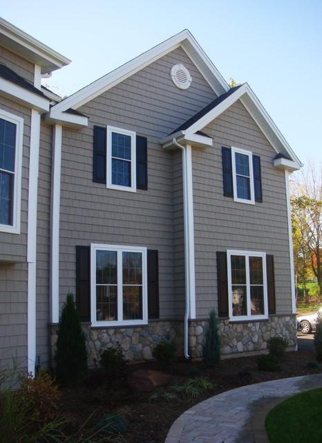 New Wethersfield, CT Custom Home craftsman-exterior
