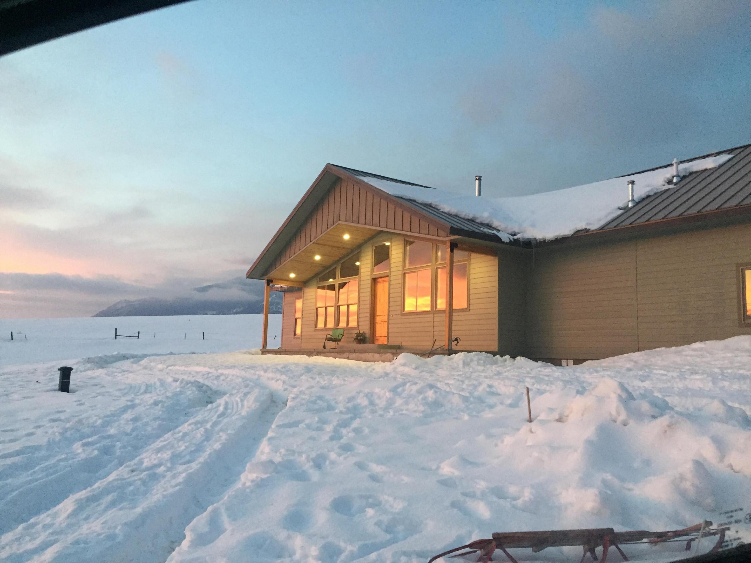 Craftsman Lodge Style Home