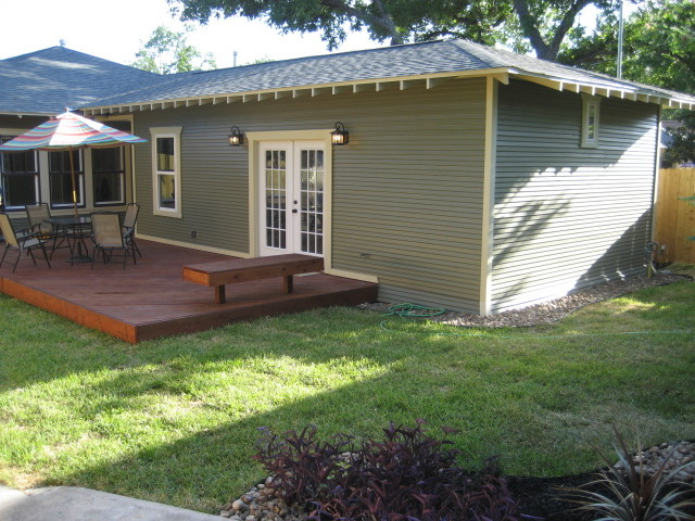 Craftsman Master Suite Room Addition traditional-exterior