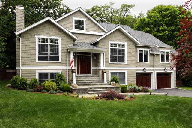 Home Remodeling New York Exterior Property Raised Ranch  Houzz