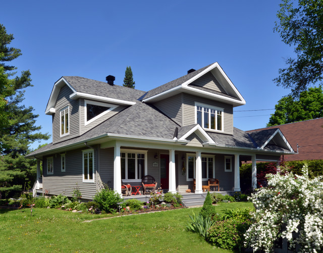 Craftsman renovation craftsman exterior ottawa by for Exterior by design ottawa