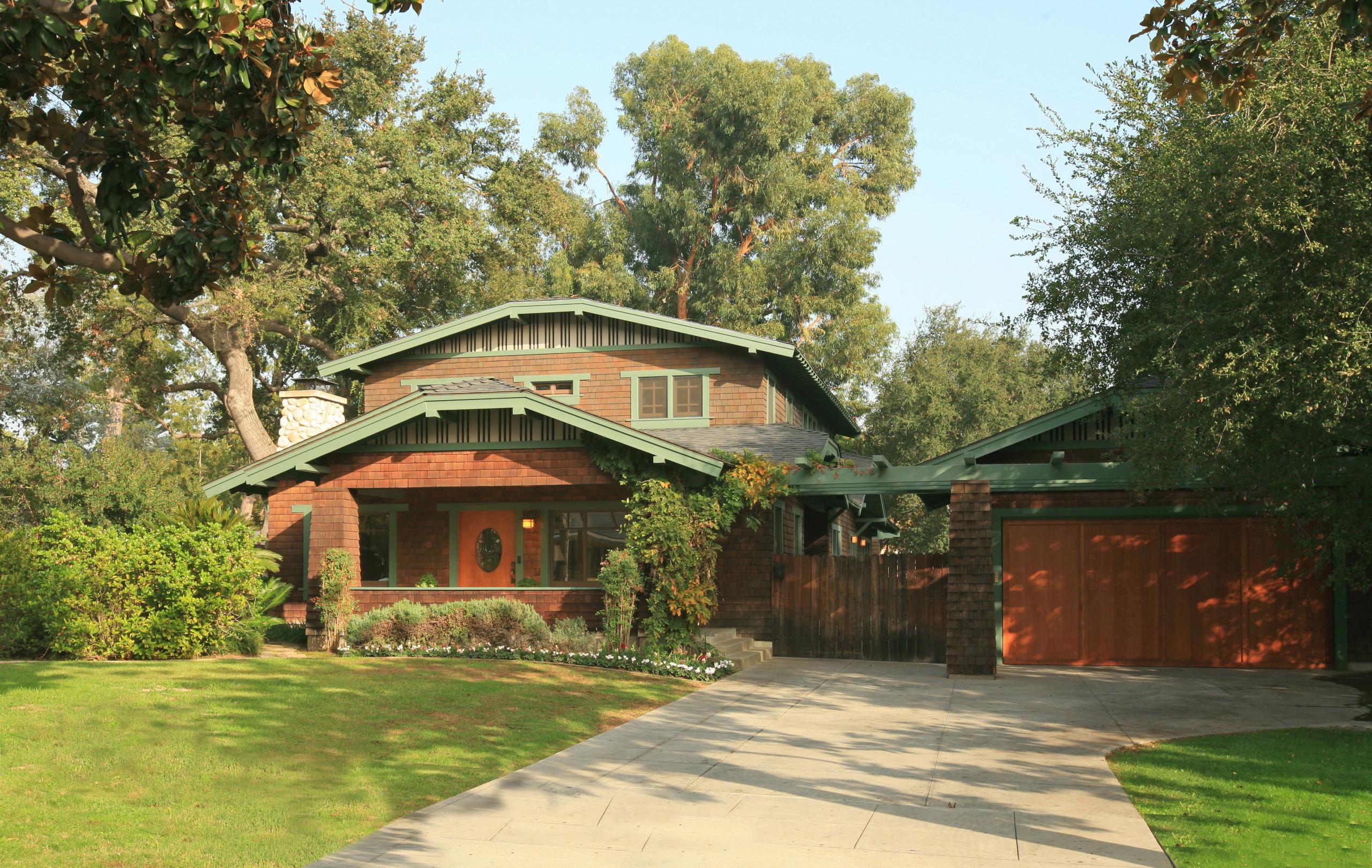 Craftsman Residence in South Pasadena