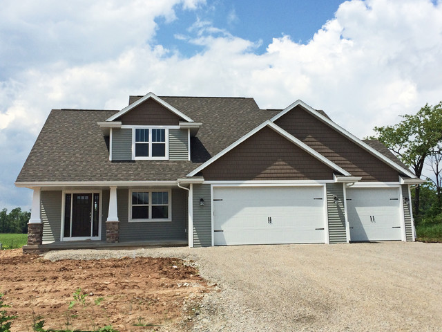 Craftsman Style 1 12 Story New Construction Home