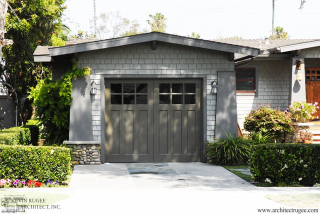 Craftsman Style Homes - Craftsman - Exterior - san diego - by Kevin Rugee Architect, Inc.