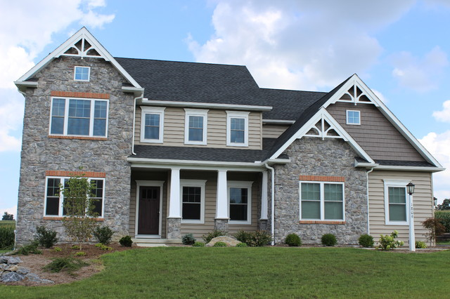 Craftsman Style Two Story