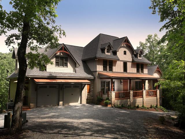 Crazy Fox Lodge Traditional Exterior Atlanta By