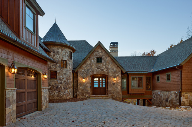 Creek Hollow Castle Rustic Exterior Other Metro By
